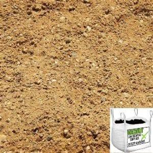 Sharp sand. Bulk