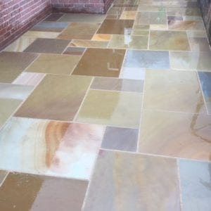 sawn honed mixed size rippon buff