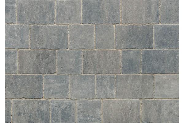 Stonemarket Marshalls Newtri Rumbled Grey Block Paving